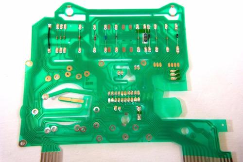 placa de circuito malha gol quadrado gts gti santana quantum