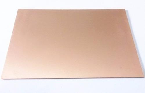 placa de cobre circuito impreso universal virgen 10 x 15 cm