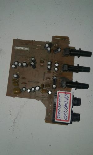 placa de comando do  microfones do som sharp cd. k1600bk
