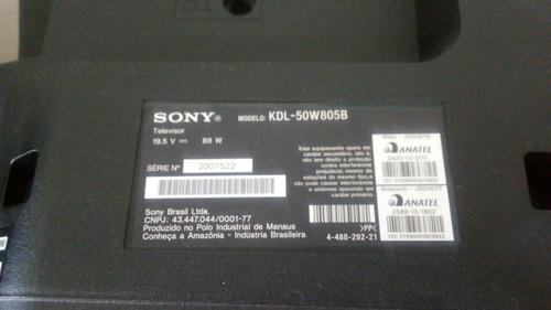placa de controle sony kdl 50w805