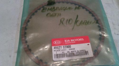 placa de embrague automatico kia rio/carens/spectra2002-2004