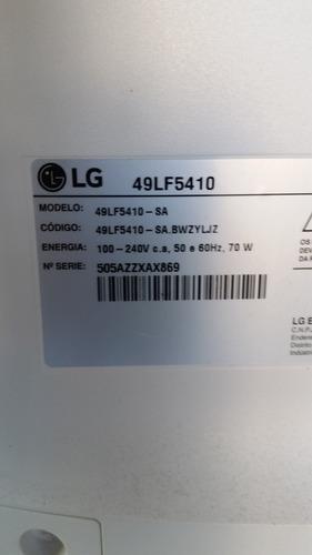 placa de fonte 49lf5410  lg  boa + frete grátis