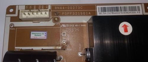 placa de fonte da tv samsung pl42b450b1 bn44-00273c