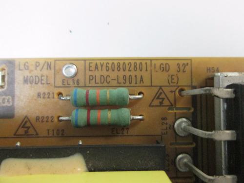 placa de fonte lg 32le4600/5500/7500/ cód eay60802801