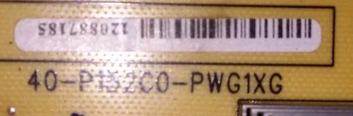 placa de fonte semp 40rv800a  cod:40-p152c0-pwg1xg