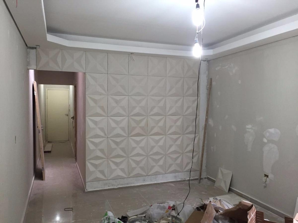 placa de gesso 3d cullinans revestimento painel de parede