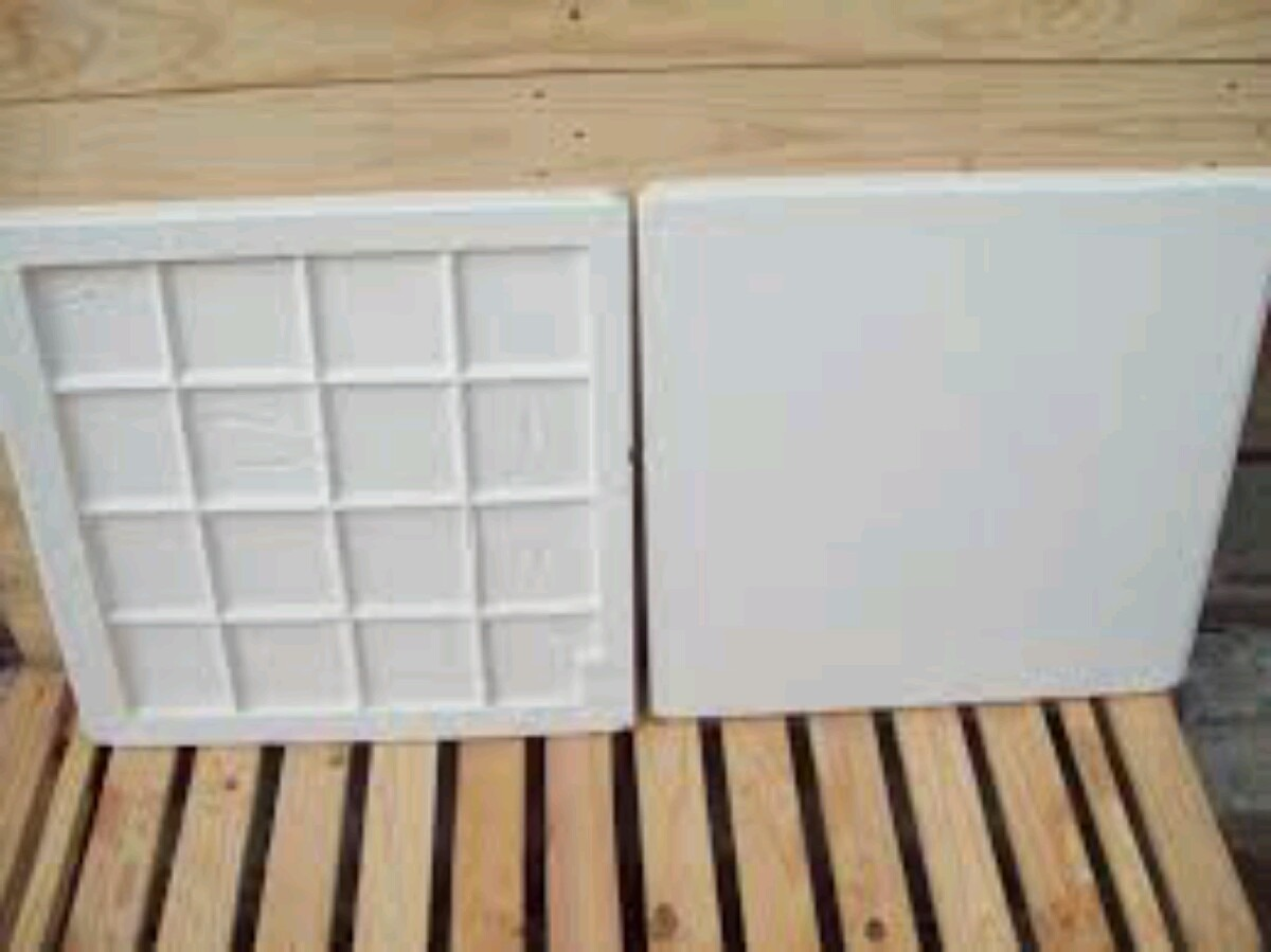 Placa de gesso 60x60 r 5 50 em mercado livre for Placas de escayola 60x60 precio