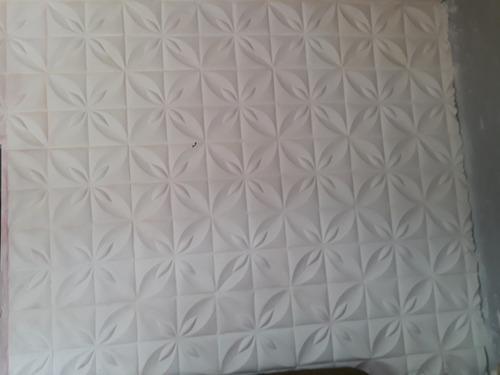 placa de gesso rebaixamento de teto