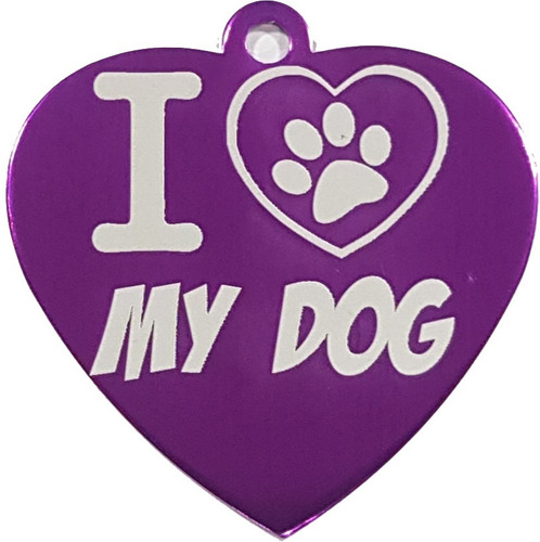placa de identificación mascotas