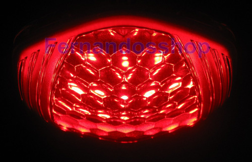 placa de leds moto nova honda fan titan 150 , 160 , 125 flex