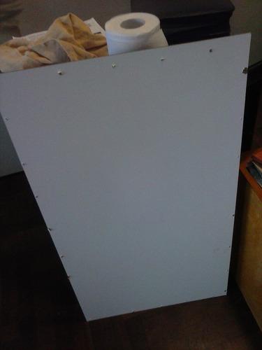 placa de melamina de 44 x 78 cm espesor 4 mm