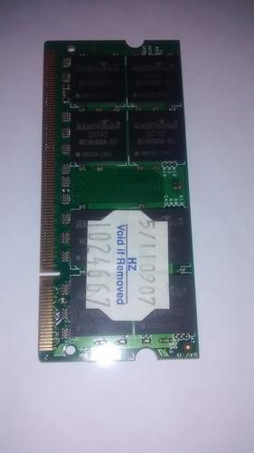 placa de memoria ddr2 1gb usada