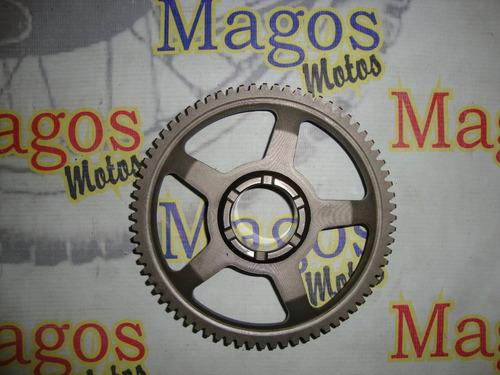placa de partida c/ magneto da nx 400 falcon original
