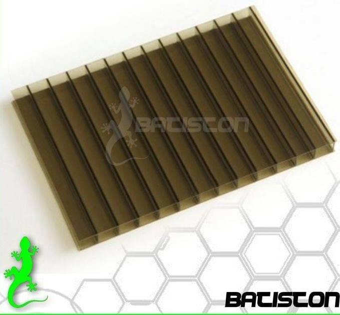 Placa de policarbonato alem n 6mm bronce 500 00 en - Placa policarbonato precio ...