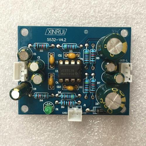 placa de preamplificador de audio de subwoofer de subwoofer