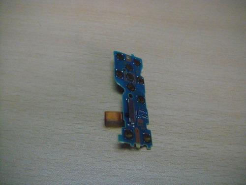placa de pulsadores para camara digital sony