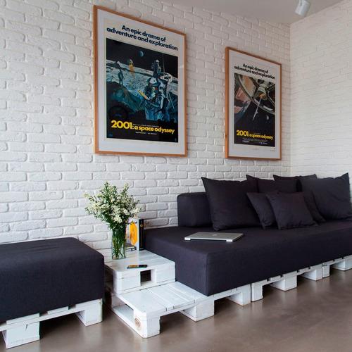 placa de pvc 3d revestimento painel decor 50cm x 50cm