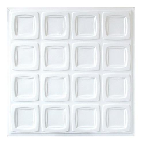 placa de pvc 3d revestimento varese 50cm x 50cm