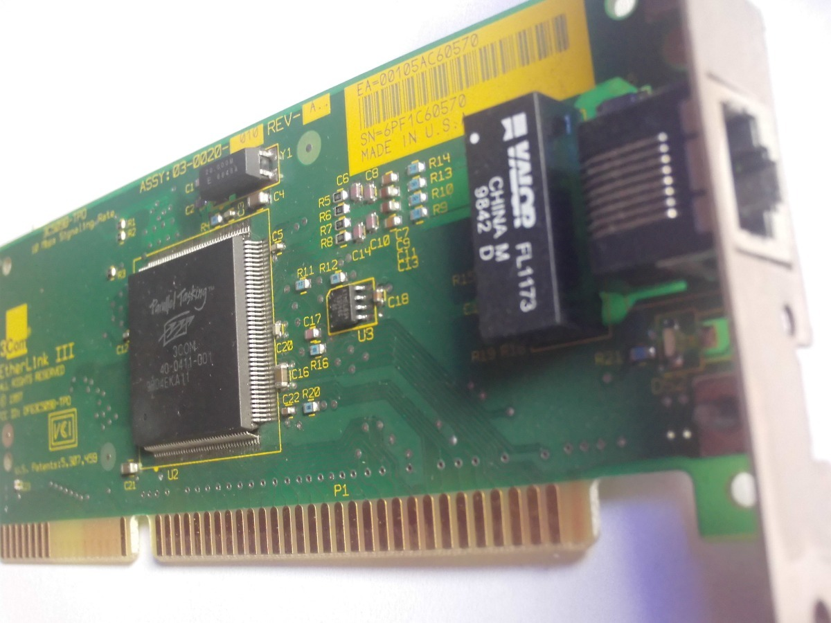 3COM ETHERLINK III 3C509B DRIVERS FOR PC