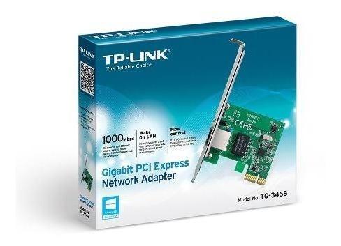 placa de red pci express tp-link 100/1000 tg-3468 - dixit p