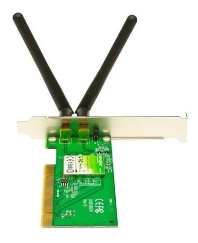 placa de red pci wifi tp-link tl-wn851nd 300mbps