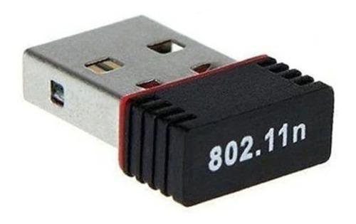 placa de red wifi nano wireless usb adapter 150 mbps 2.4 ghz