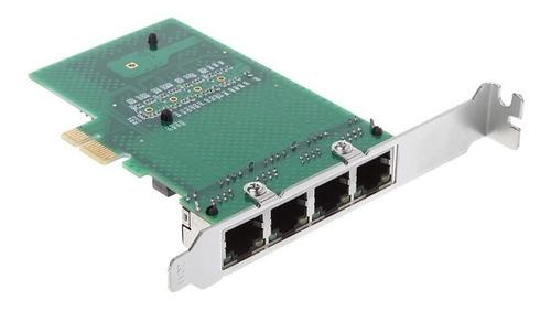 placa de rede 4 portas gigabit ethernet pc servidor ac3507