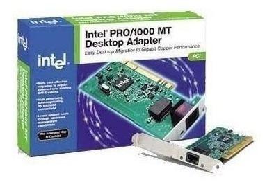 placa de rede intel gigabit pwla-8391gt rj45 pci 32bits