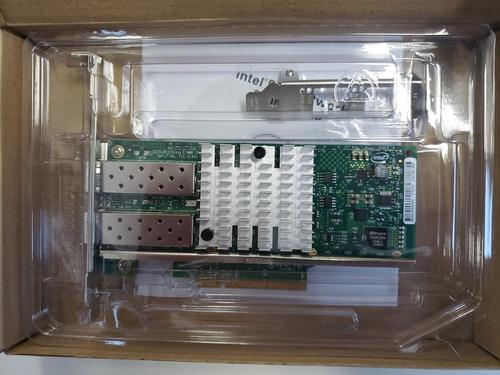 placa de rede intel x520-da2 dual  10gb converged e10g42btda