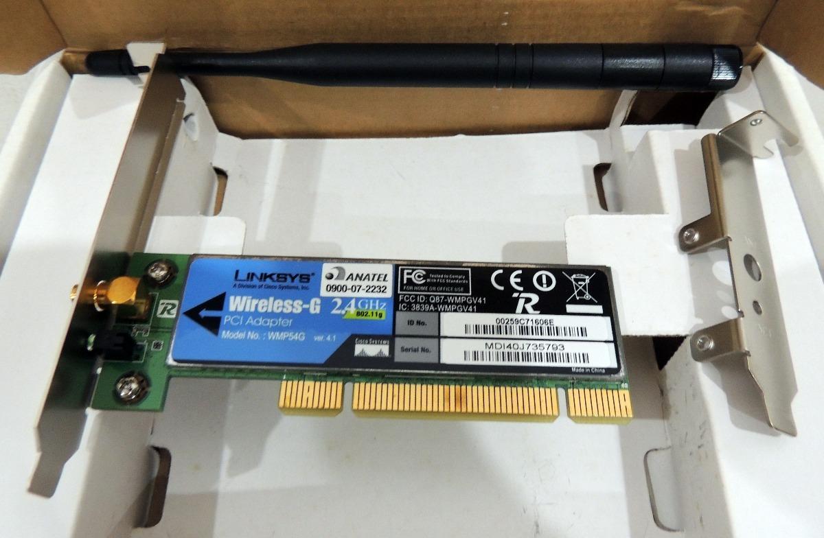LINKSYS WMP54G-LA DRIVERS FOR MAC