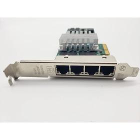 Placa De Rede Nc364t Hp Pci E Quad Port Gigabit - 436431-001