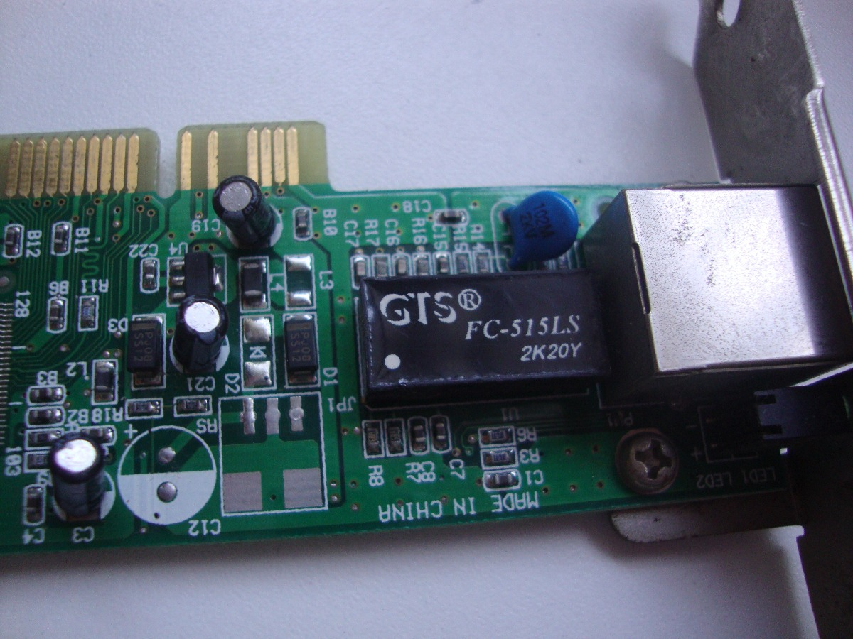 GTS FC 515LS ETHERNET DRIVERS FOR WINDOWS VISTA