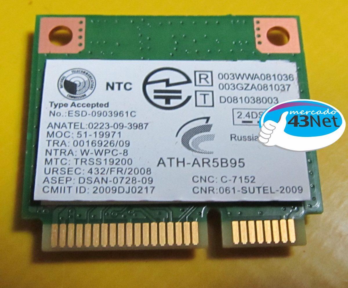 ANATEL ATHEROS AR5B95 WINDOWS 8 X64 DRIVER DOWNLOAD