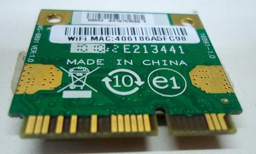 placa de rede wireless notebook msi cr420