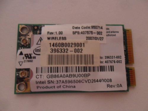 placa de rede wirelles notebook hp compaq nx6320