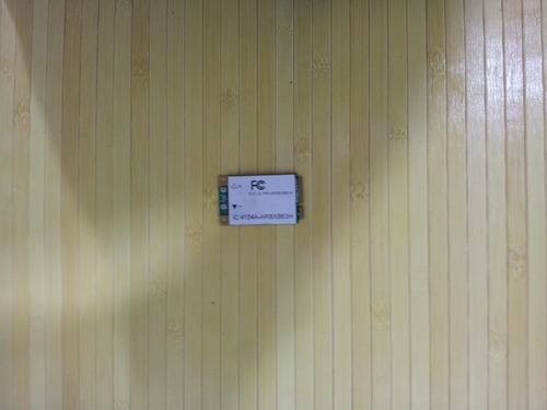 placa de rede wirelles notebook hp pavillion dv7 1232nr