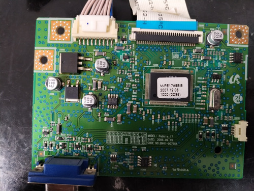 placa de sinal monitor samsung 732n plus 732n bnx