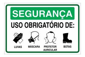 50d078fae4fcae Placas De Segurança Do Trabalho - Decoração no Mercado Livre Brasil