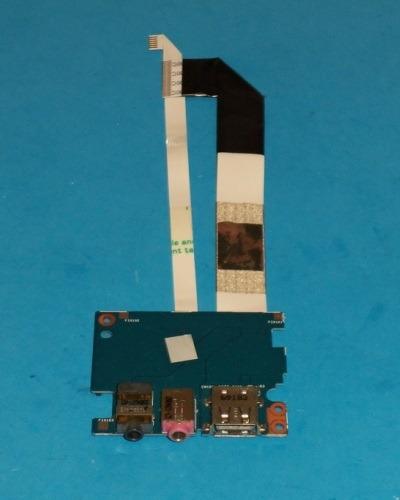 placa de som audio acer 3810t + usb + cabos flat
