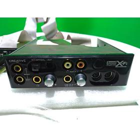 Placa De Som Creative Sound Blaster X-fi Sb460 - Com Mixer