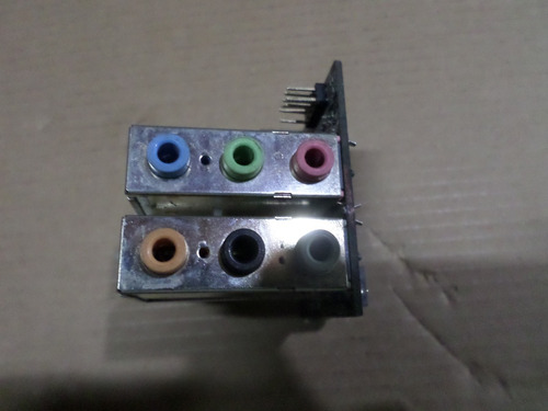 placa de som e de rede