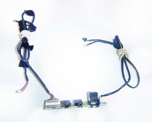 placa de som e modem rj11 notebook ecs g5575 com flat's