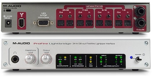 DRIVER FOR M-AUDIO PROFIRE LIGHTBRIDGE