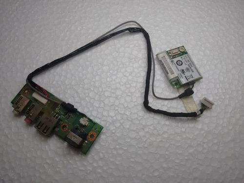 placa de som usb + cabos+ moldem positivo mobile series z 65