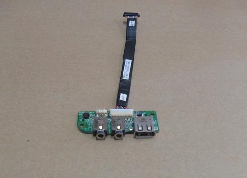 placa de som + usb notebook itautec w7535