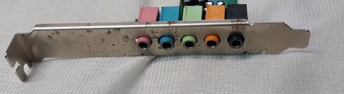 placa de sonido encore enm232-6via 5.1 canales 16 bits  1