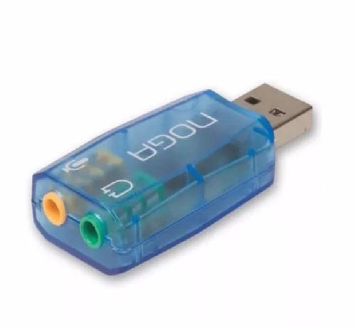 placa de sonido usb 5.1 canales noganet he-280