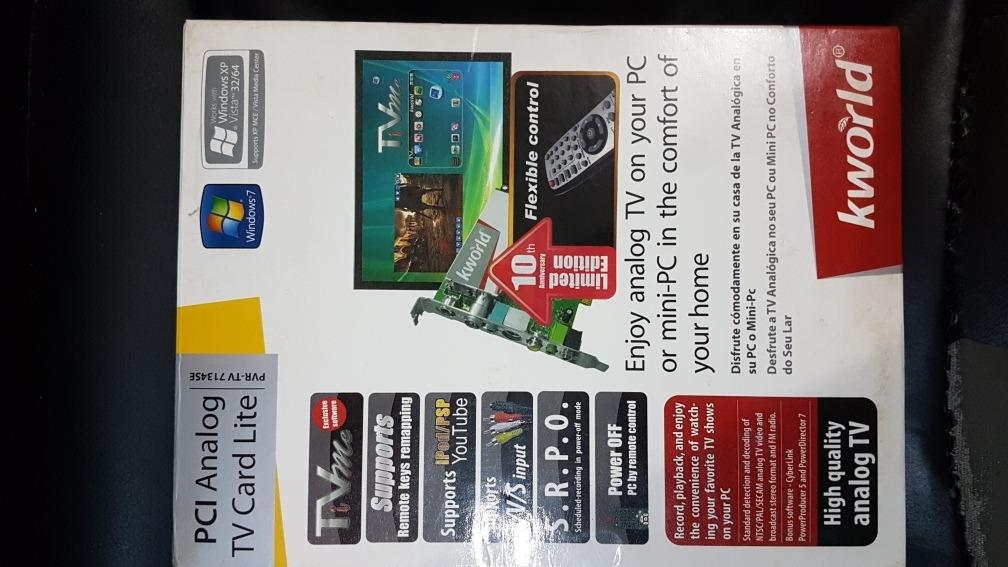 KWORLD KW-PC165-A LE TV CARD REMOTE CONTROL WINDOWS 7 X64 DRIVER