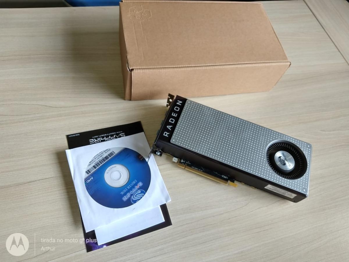Placa De Video 4gb Sapphire Radeon Rx 470 Oc
