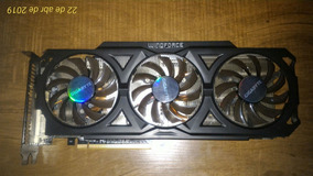 Placa De Video Amd Radeon R9 280x Gigabyte Wind Com Defeito